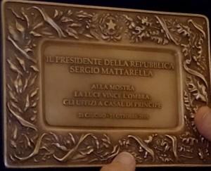 Targa Mattarella